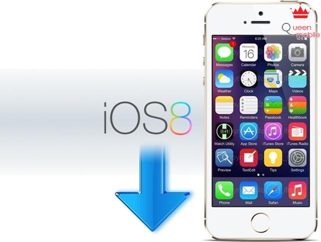 15 phút để hạ từ iOS 8 xuống iOS 7.1.1