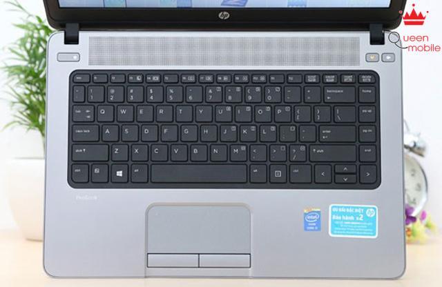 Bàn phím dễ thao tác, và touchpad lớn trên HP Probook 440 G1