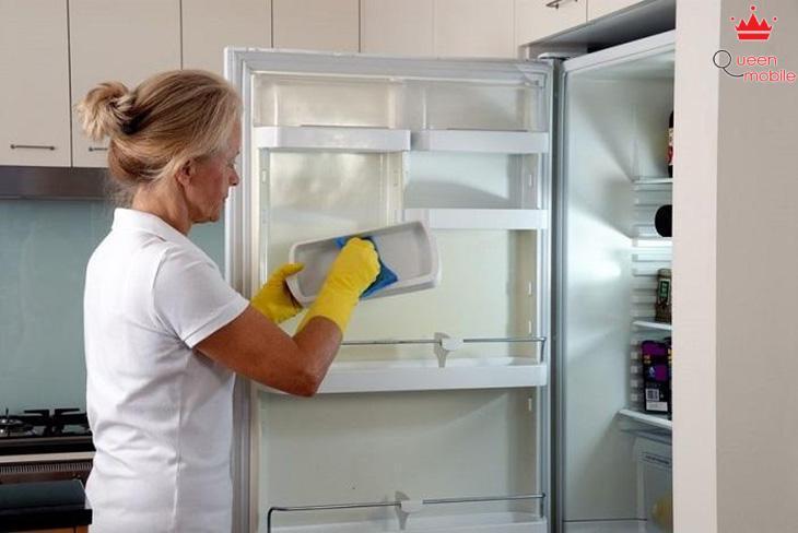 Dễ dàng vệ sinh tủ lạnh