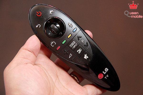 Chiếc remote thông minh có chức năng như chuột vi tính