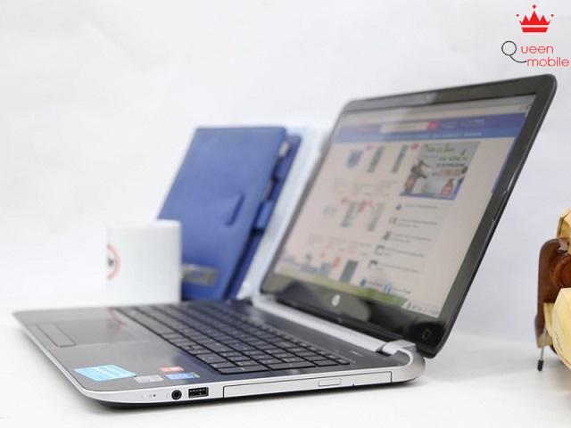 Thiết kế trẻ trung, hiện đại của laptop HP Pavilion 15 N042TX