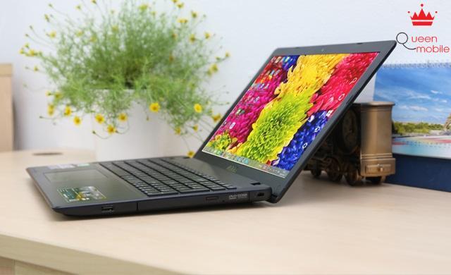 Màn hình 15.6 inch chống lóa sáng và khả năng tùy chỉnh màu sắc đa dạng nhờ công nghệ Splendid