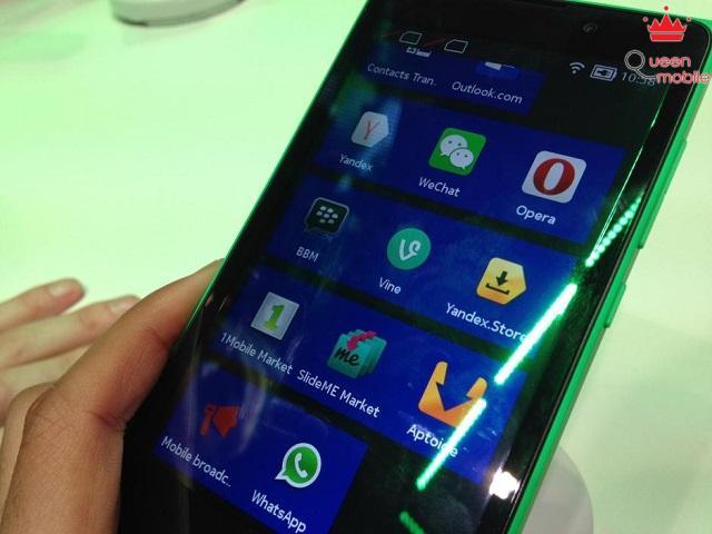 Nokia XL được sự ưu ái từ 3 ông lớn trong ngành công nghệ là Google, Microsoft và Nokia