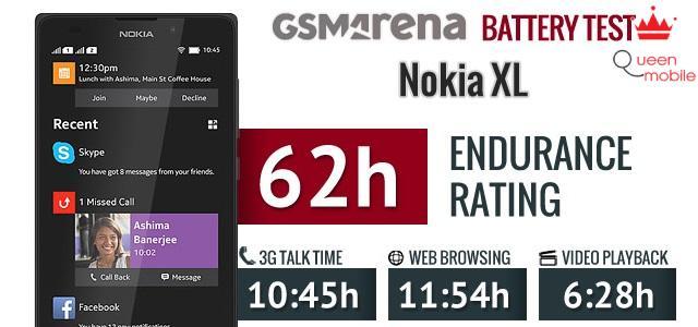 Thời lượng sử dụng pin khá tốt trên Nokia XL