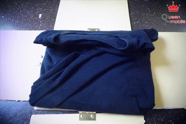 Tự chế máy gấp quần áo cực kỳ đơn giản