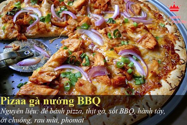 Pizza gà nướng BBQ