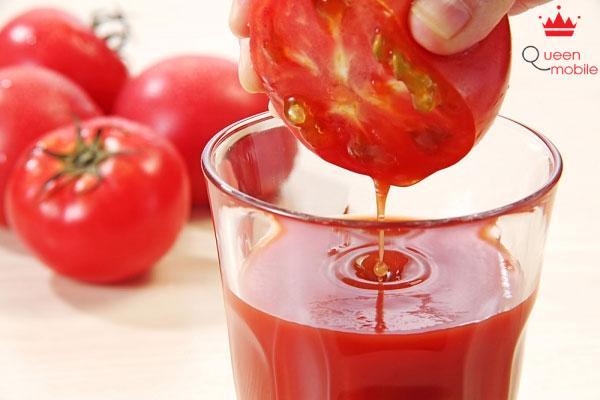 Cà chua có thể làm thành nước ép trở thành thức uống giải khát tuyệt vời