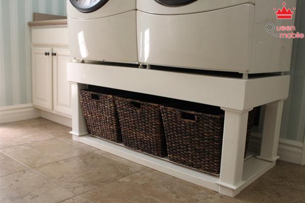 Tuyệt chiêu giúp biến không gian giặt giũ trở nên hoàn hảo