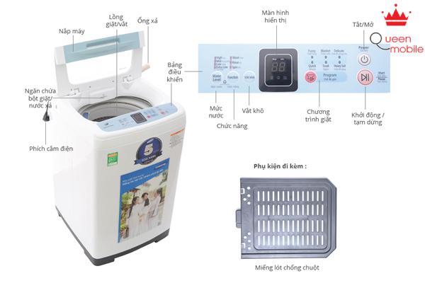 Máy giặt tiết kiệm hàng chục ngàn lít nước/năm