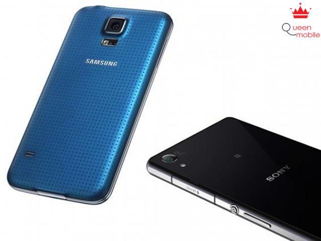 Galaxy S5 và Xperia Z2