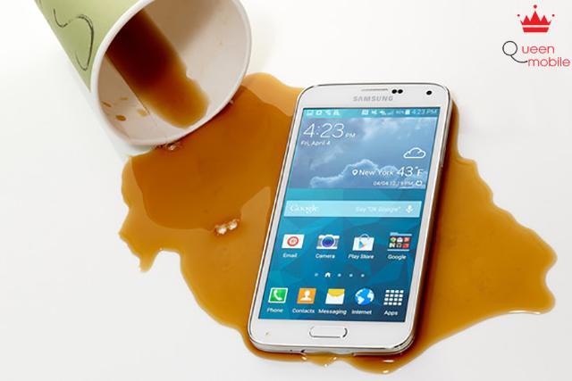 Yên tâm hơn khi sử dụng Samsung Galaxy S5