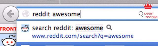 Tiến hành tìm kiếm trên trang web đó bất cứ lúc nào bằng cách gõ:  từ khóa và tên tìm kiếm