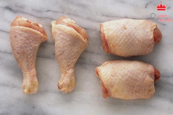 Thịt gà tươi miếng