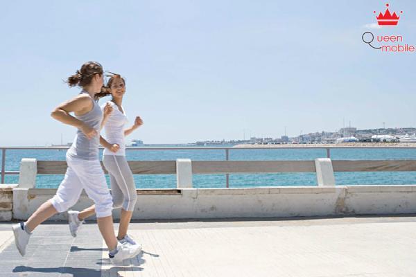 Chạy bộ rất tốt cho sức khỏe, tuy nhiên nên chạy chậm và đều