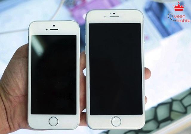 iPhone 6 so kè với iPhone 5s