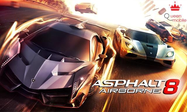 Những game 3D như Asphalt 8 sẽ không là vấn đề đối với LG G3