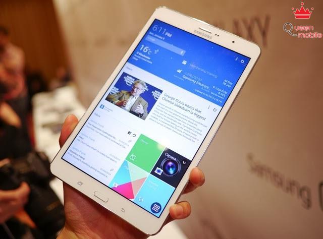 Mặt trước của Samsung Galaxy Tab S 8.4