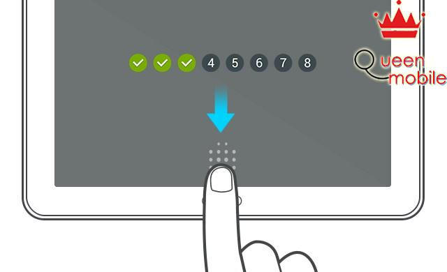 Cảm biến vân tay trên Tab S 8.4