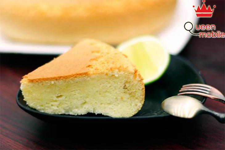 Bánh bông lan dùng với trà ngon thêm phần đậm đà
