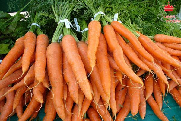 Ngăn ngừa ung thư nhờ vào cà rốt