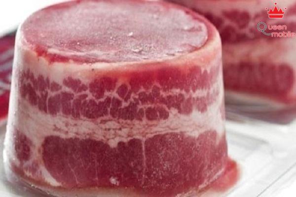 Đông lạnh thịt trước khi cắt