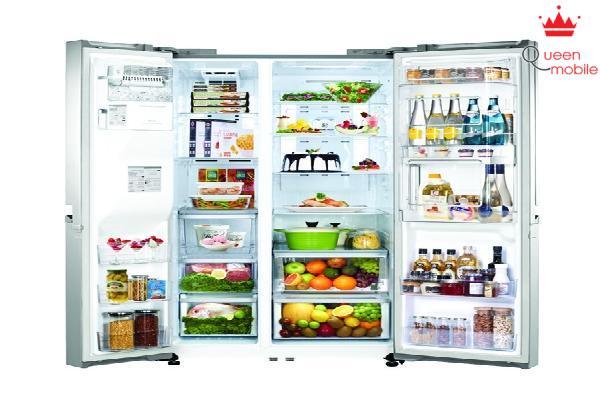 Thức ăn tươi lâu hơn khi để trong tủ lạnh
