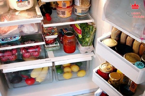 Bảo quản từng loại thực phẩm ở ngăn riêng biệt