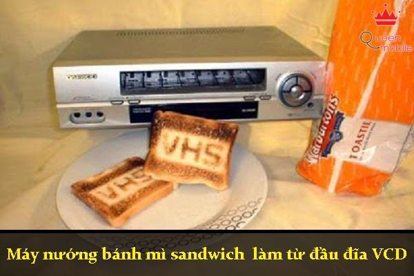 Lò nướng bánh mì từ đầu đĩa DVD huyền thoại