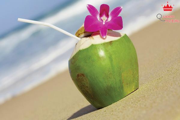 Nước dừa giúp tăng cường khí lực