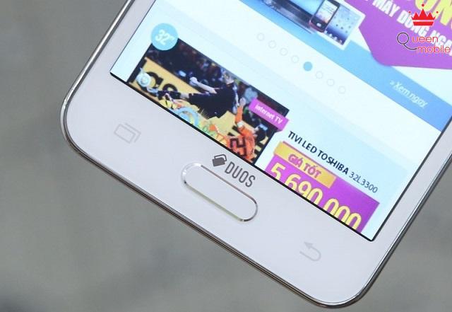 Phím home đặc trưng trên các dòng máy của Samsung