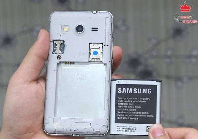 Pin có thể tháo rời để thay thế