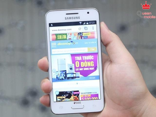Samsung Galaxy Core 2 có màn hình 4.5 inch