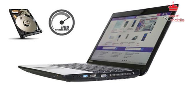 Công nghệ tăng tốc ổ cứng hiệu quả Toshiba HDD Accelerator
