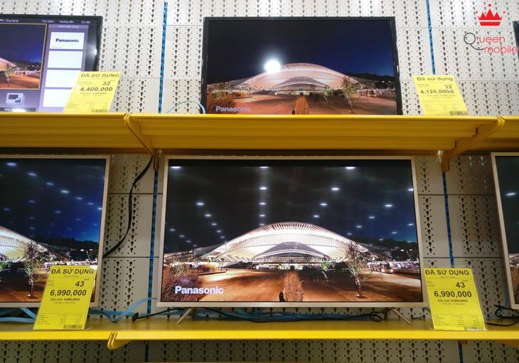 Kinh nghiệm chọn mua tivi cũ, tivi đổi trả