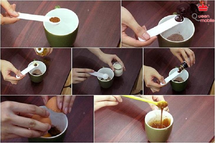 Cách làm bánh bằng lò vi sóng vị sô cô la