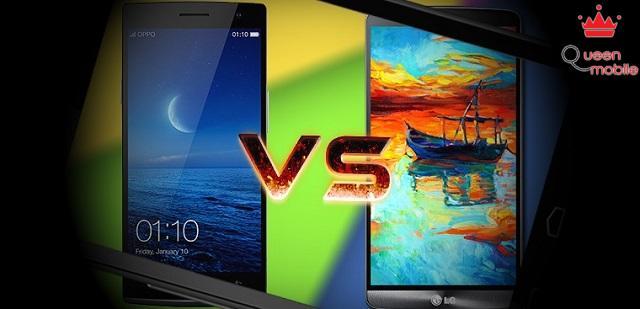LG G3 đối đầu Oppo Find 7 - Cuộc chiến độ phân giải màn hình