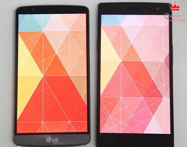 LG G3 cho màu nịnh mắt, đậm đà còn Find 7 cho màu sáng và trung thực