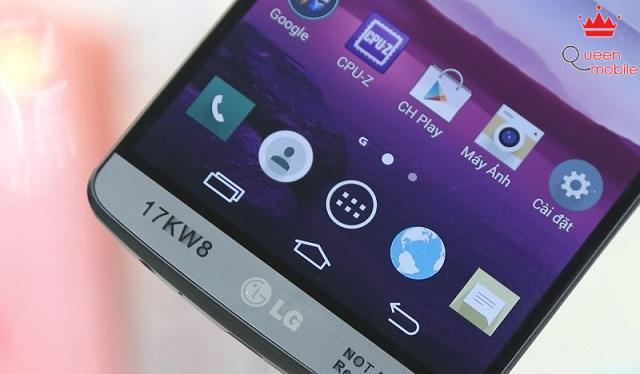 LG đưa các phím điều hướng vào trong màn hình