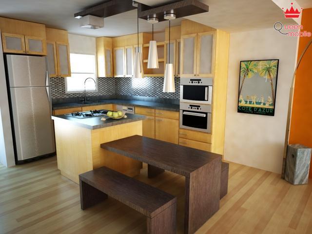 10 ý tưởng bày trí cho căn bếp hẹp