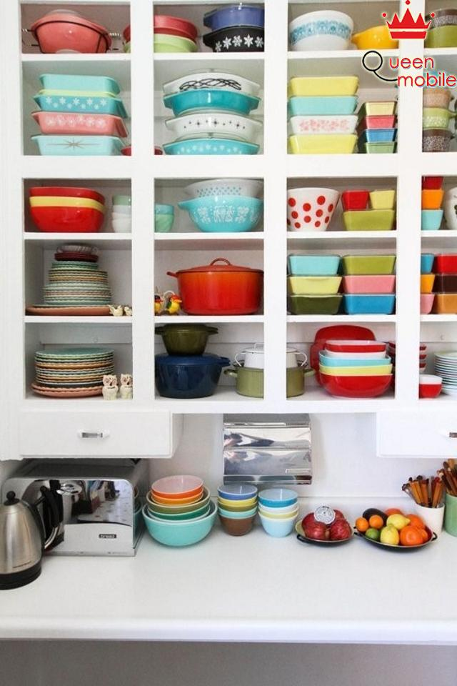 Vị trí thích hợp cho vật dụng trong bếp