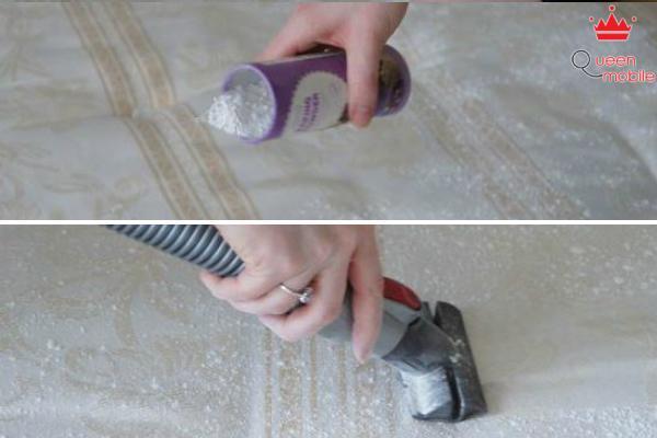 Bí kíp tẩy mùi hôi nệm, thảm trong nhà