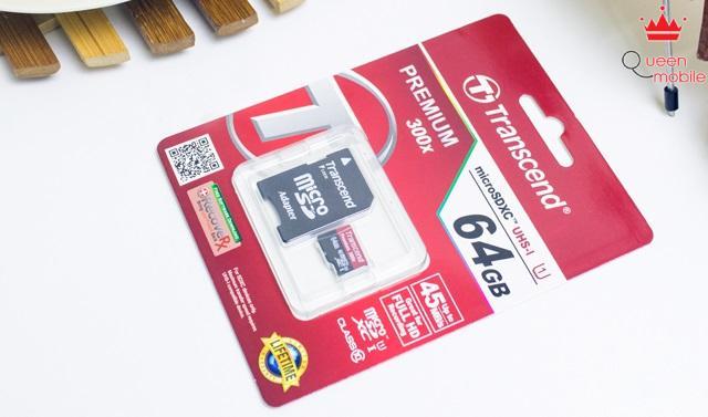 Thẻ nhớ dung lượng lớn 64GB