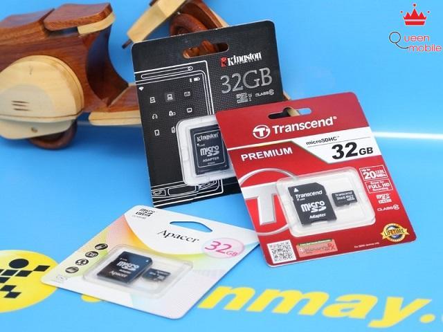 Thẻ nhớ đang có rất nhiều thương hiệu và dung lượng lớn nhỏ khác nhau để lựa chọn
