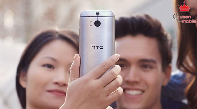 HTC One M8 là một trong những smartphone chụp ảnh tự sướng lý tưởng
