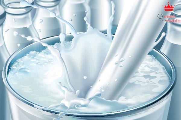 Sữa làm dịu các dây thần kinh, giúp cơ thể giảm stress.