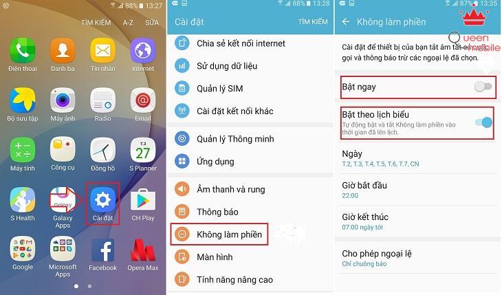 Hướng dẫn cách bật, tắt thông báo ứng dụng gây phiền trên điện thoại Android