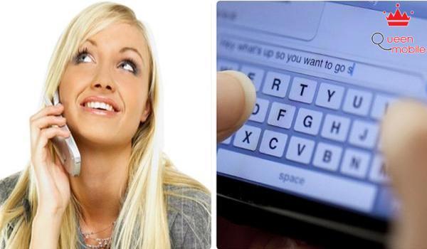 Gọi điện thoại thay vì nhắn tin giúp tình cảm được vững bền hơn