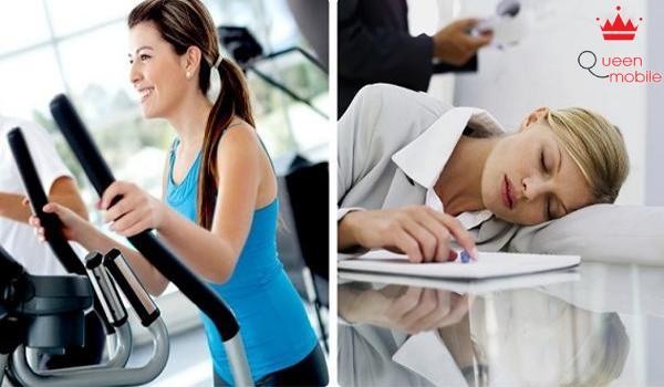 Tập thể dục thay vì ngủ trưa tốt cho sức khỏe