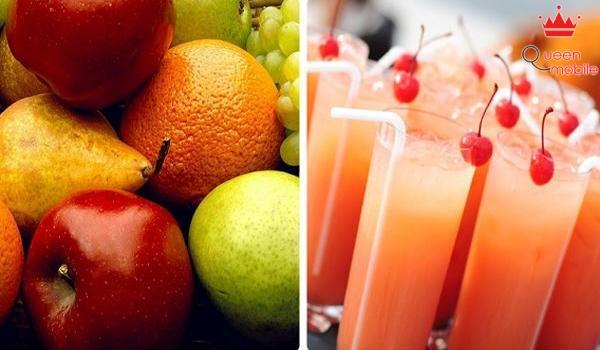 Ăn trái cây nguyên quả tốt hơn uống nước ép
