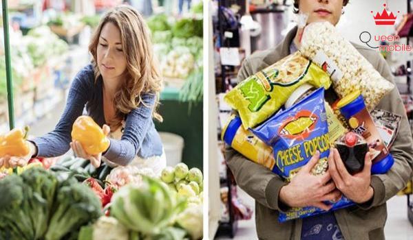 Mua sắm khi bụng còn no tốt hơn khi bụng đói